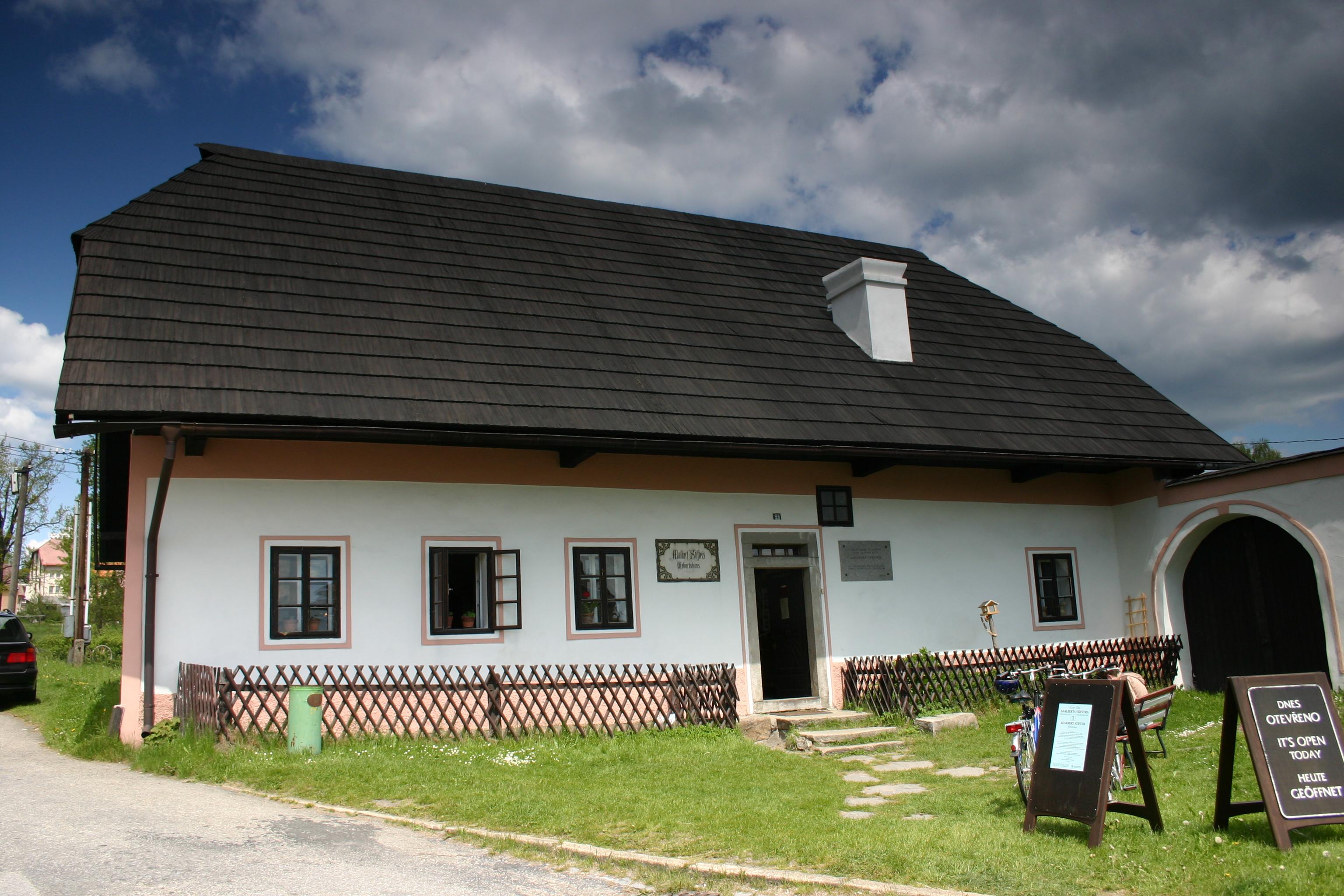 Památník - Rodný dům Adalberta Stiftera