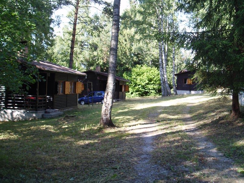 Srubové chaty Lipno Jenišov