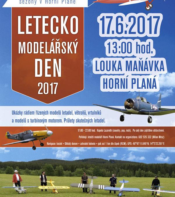 Leteckomodelářský den v Horní Plané
