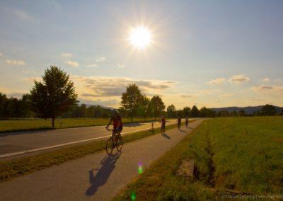 Cyklostezka v Hůrce