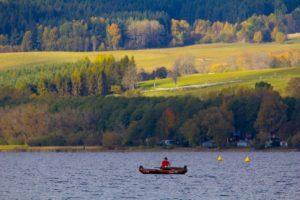 Rybář u Horní Plané