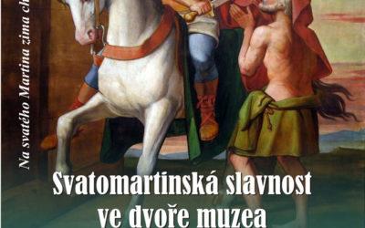Svatomartinská slavnost ve dvoře muzea