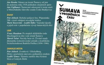 Vyšlo 2. číslo revue Šumava vproměnách času