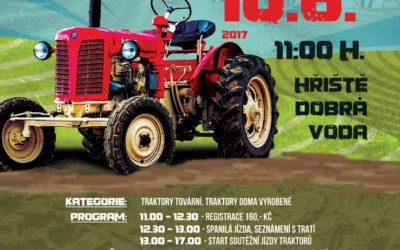 III. Hornoplánská traktoriáda 10.6.2017 od 11:00