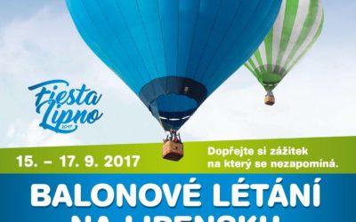 Balonové létání na Lipensku
