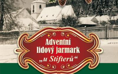 Adventní lidový jarmark v Památníku A. Stiftera v sobotu 2. prosince 2017