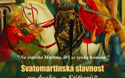 Přijďte přivítat příjezd Martina nabílém koni